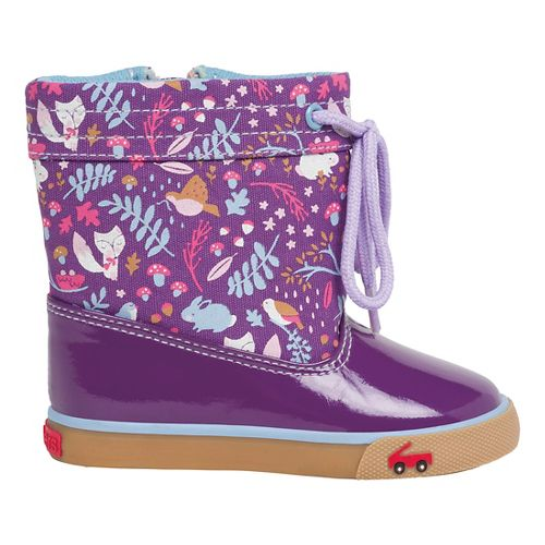 Kids See Kai Run Greta Casual Shoe - Purple 9C