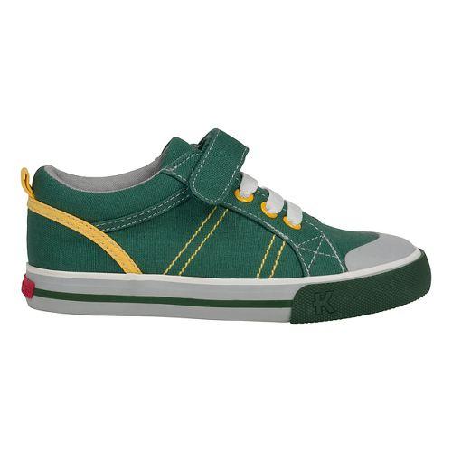 See Kai Run Boys Tanner Casual Shoe - Green 11.5C