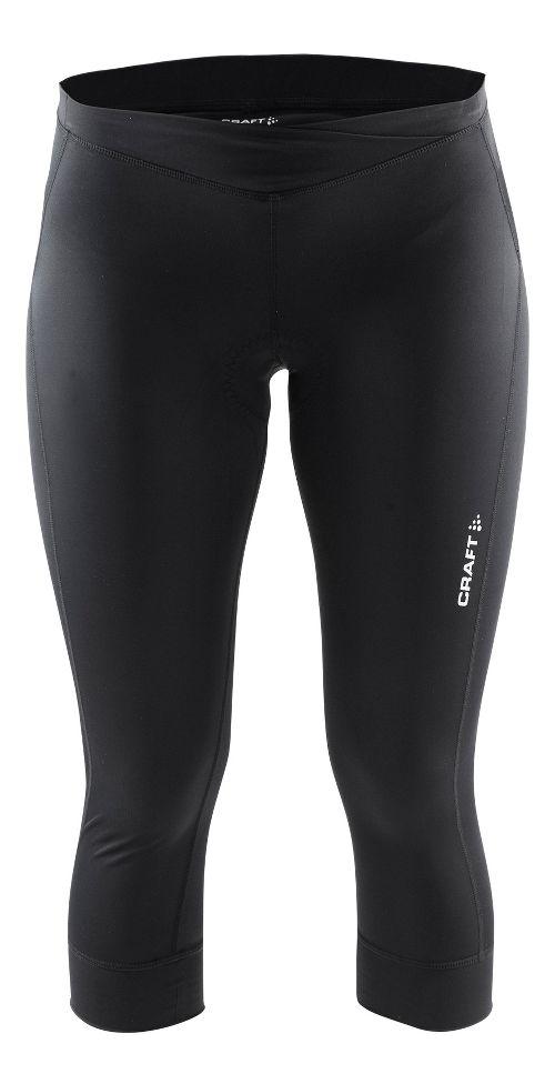 Womens Craft Velo Knickers Capris Pants - Black XL