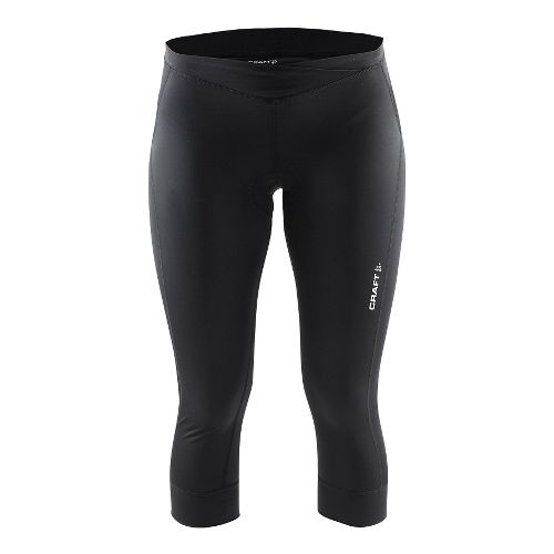 Womens Craft Velo Knickers Capris Pants - Black XL