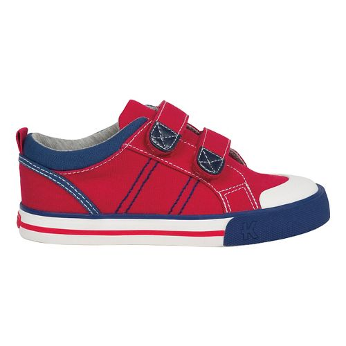 See Kai Run Boys Hess II Casual Shoe - Red 10.5C
