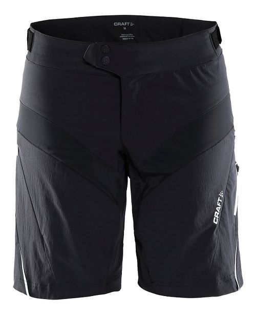 Womens Craft X-over Cycling Shorts - Black/White S