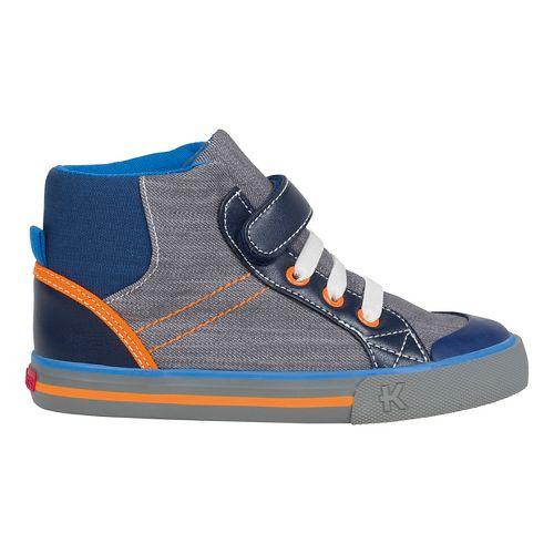 Kids See Kai Run Dane Casual Shoe - Grey 2.5Y