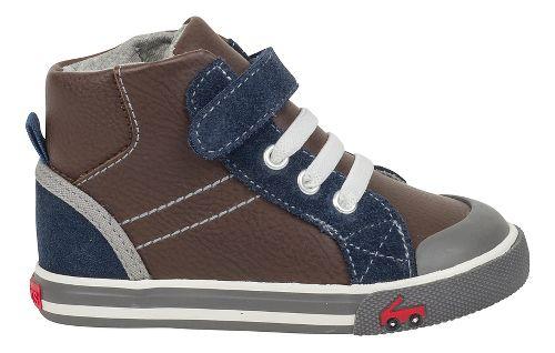 Kids See Kai Run Dane Casual Shoe - Brown Leather 9.5C