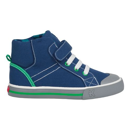 Kids See Kai Run Dane Casual Shoe - Navy 11C