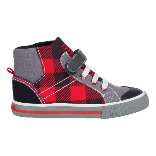 Kids See Kai Run Dane Casual Shoe - Red 13.5C