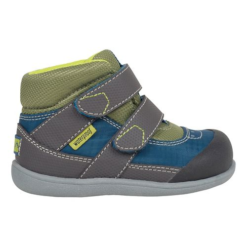 See Kai Run Kids Atlas WP Casual Shoe - Blue/Grey 9C