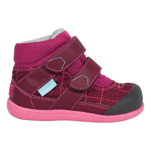 See Kai Run Kids Atlas WP Casual Shoe - Burgundy 8C