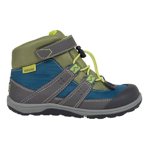 See Kai Run Kids Atlas WP Casual Shoe - Blue/Grey 11.5C