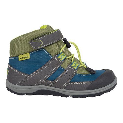 See Kai Run Kids Atlas WP Casual Shoe - Blue/Grey 13C