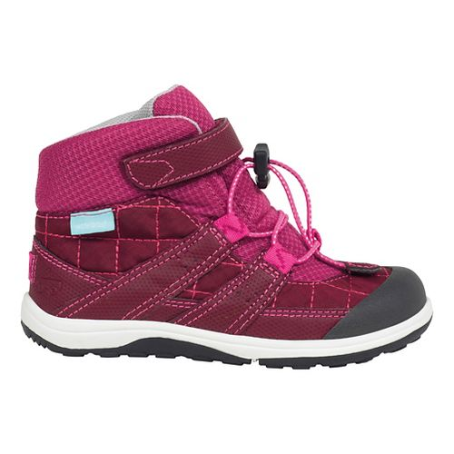 See Kai Run Kids Atlas WP Casual Shoe - Burgundy 10C