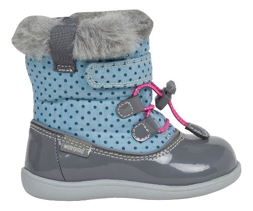 Kids See Kai Run Abby WP Casual Shoe - Light Blue/Grey 8C