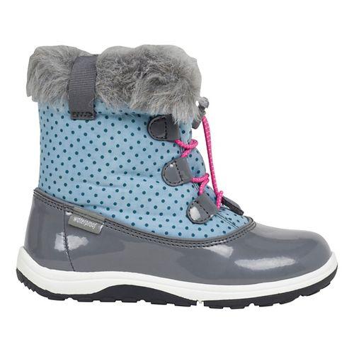 Kids See Kai Run Abby WP Casual Shoe - Light Blue/Grey 11