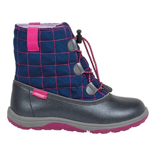 See Kai Run Girls Abby WP Casual Shoe - Navy 2Y