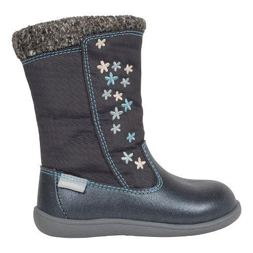 Kids See Kai Run Hallie WP Casual Shoe - Dark Grey 5C