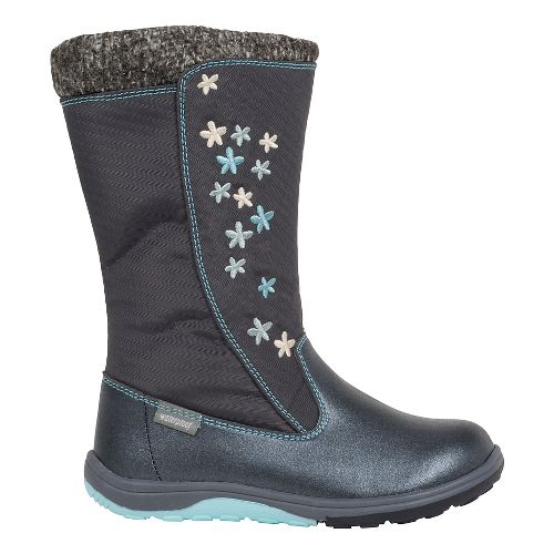 Kids See Kai Run Hallie WP Casual Shoe - Dark Grey 9.5C