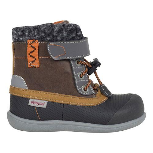 Kids See Kai Run Jack WP Casual Shoe - Brown 9C