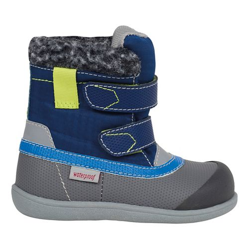 See Kai Run Boys Charlie WP Casual Shoe - Blue 5C