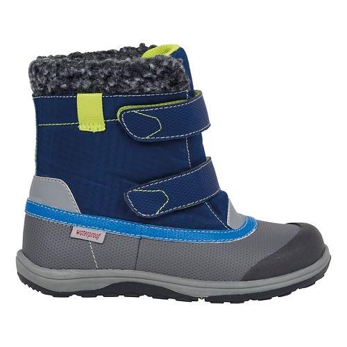 Kids See Kai Run Charlie WP Casual Shoe - Blue 10.5C