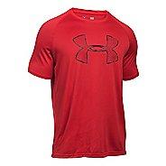 Mens Under Armour Tech Camo Big Logo T Short Sleeve Technical Tops