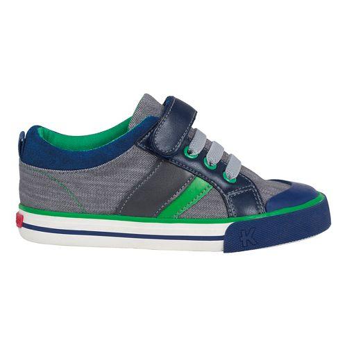 Kids See Kai Run Sammi Casual Shoe - Brown 1Y