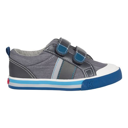 Kids See Kai Run Russell Casual Shoe - Grey 2Y