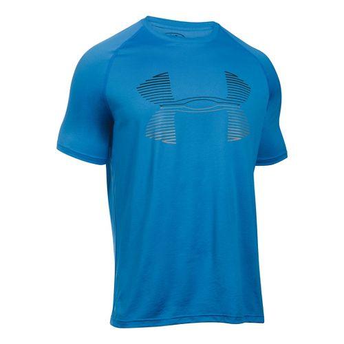 Men's Under Armour�Tech Horizon Big Logo Short Sleeve T