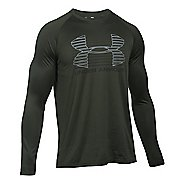 Mens Under Armour Tech Rise Up SportStyle T Long Sleeve Technical Tops