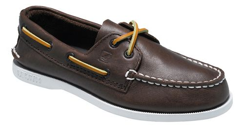 Kids Sperry Authentic Original Casual Shoe - Brown 4Y