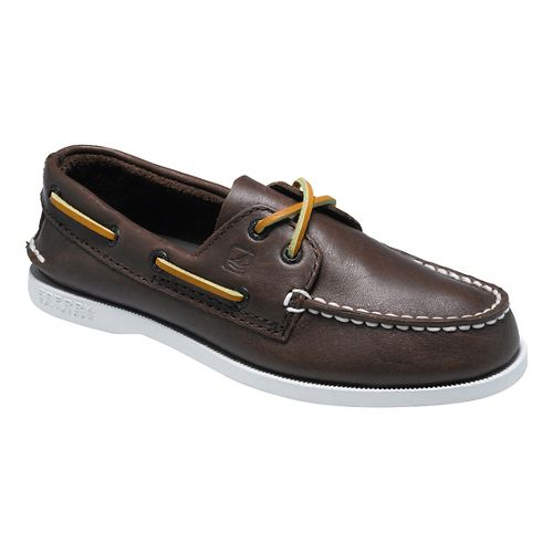 Kids Sperry Authentic Original Casual Shoe - Brown 6.5Y