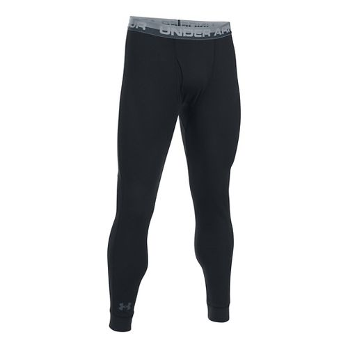 Mens Under Armour Thermal Tights & Leggings Pants - Black L
