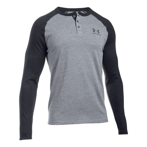Men's Under Armour�Triblend Colorblock Long Sleeve Henley