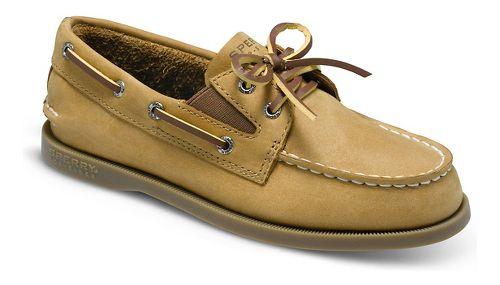 Kids Sperry Authentic Original Slip On Casual Shoe - Sahara 3.5Y