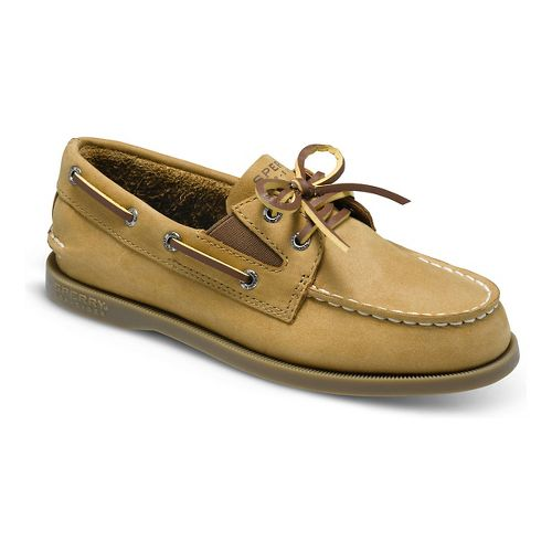 Kids Sperry Authentic Original Slip On Casual Shoe - Sahara 5.5Y