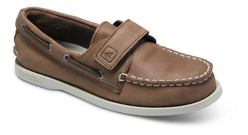 Kids Sperry Authentic Original HL Casual Shoe - Brown 9.5C