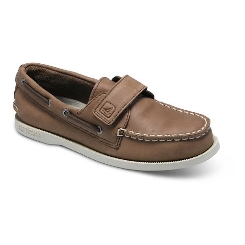 Kids Sperry Authentic Original HL Casual Shoe - Brown 10C