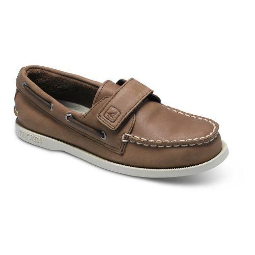 Kids Sperry Authentic Original HL Casual Shoe - Brown 11C