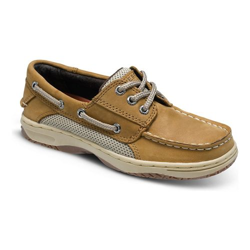 Kids Sperry Billfish Casual Shoe - Dark Tan 4Y