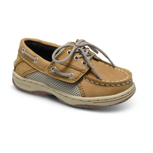 Kids Sperry Billfish A/C Casual Shoe - Dark Tan 5C