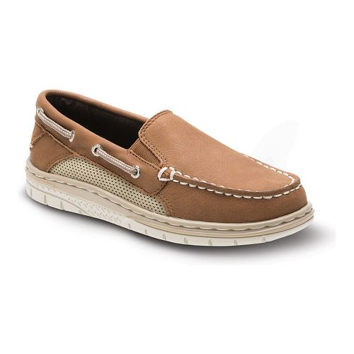 Kids Sperry Billfish Sport Slip-On Casual Shoe - Dark Tan 3.5Y