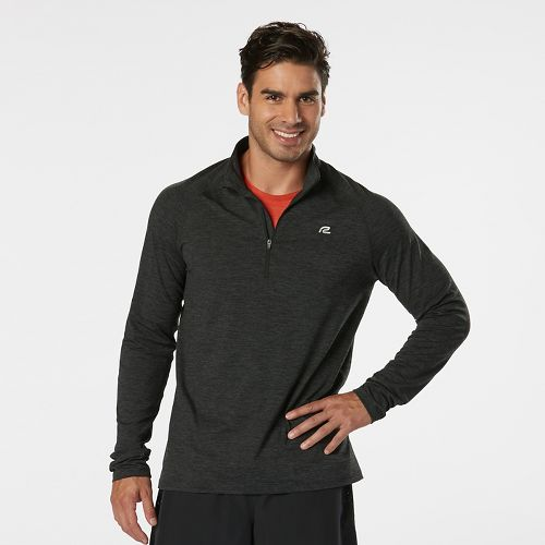 Mens R-Gear In The Zone Half-Zip II & Hoodies Technical Tops - Charcoal/Black XXL