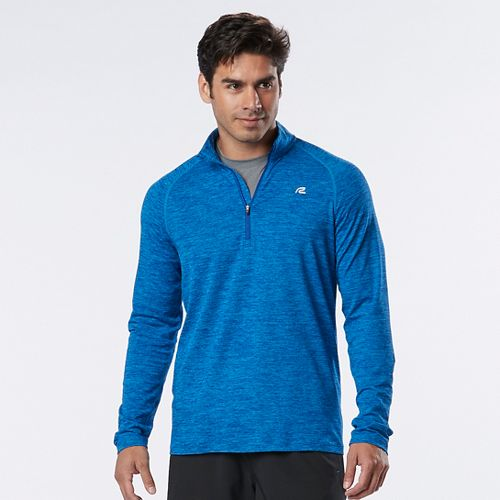 Mens R-Gear In The Zone Half-Zip II & Hoodies Technical Tops - Bolt Blue XXL