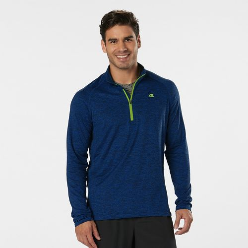 Mens R-Gear In The Zone Half-Zip II & Hoodies Technical Tops - Cobalt/Black XXL