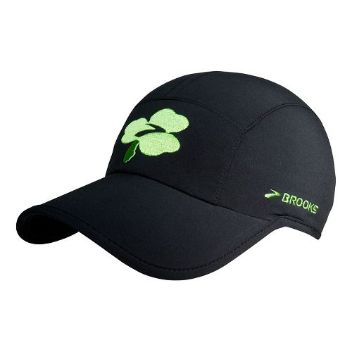 Brooks Sherpa Shamrock Hat Headwear - Black OS