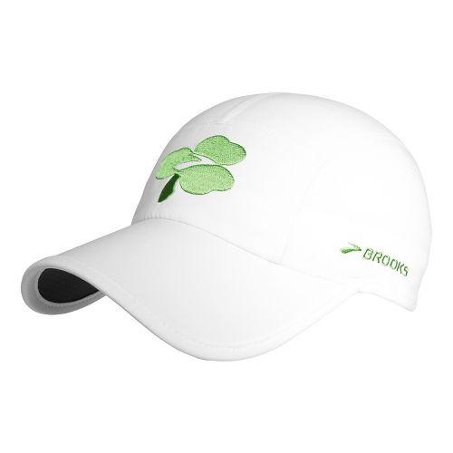 Brooks Sherpa Shamrock Hat Headwear - White OS