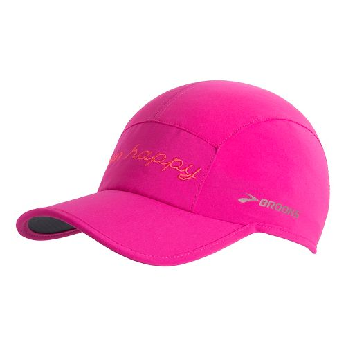 Brooks Run Happy Sherpa Hat Headwear - Petal OS