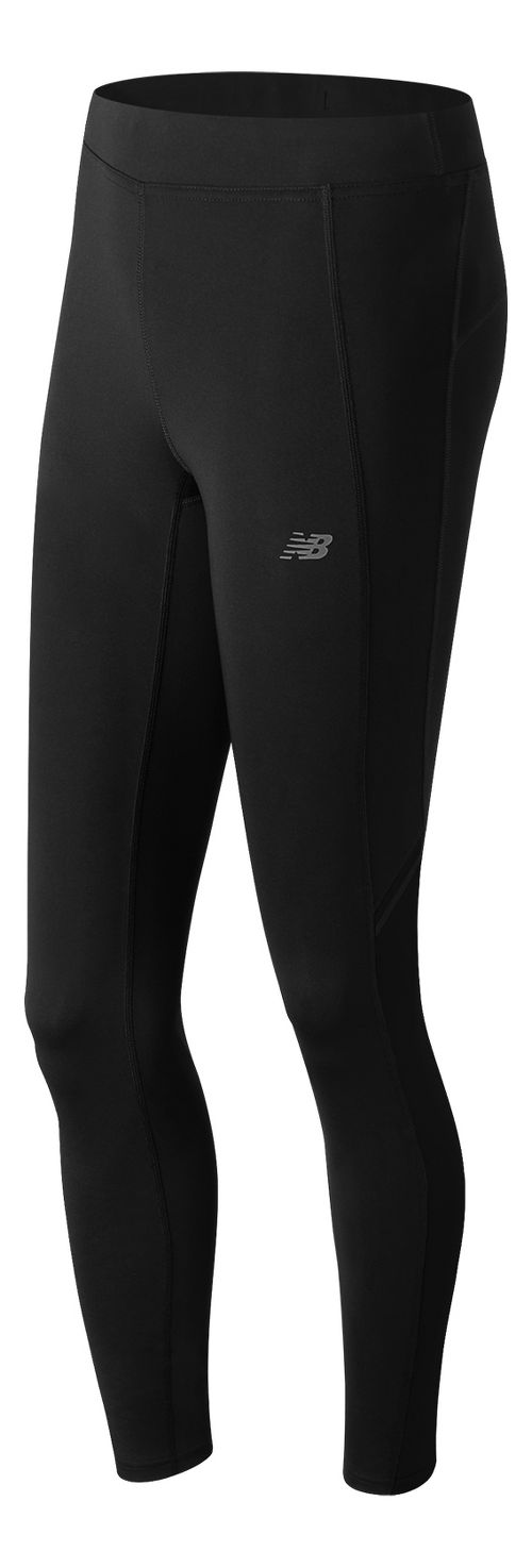 Womens New Balance Accelerate Tights & Leggings Pants - Black L