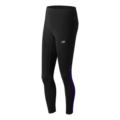 Womens New Balance Accelerate Tights & Leggings Pants - Spectral M