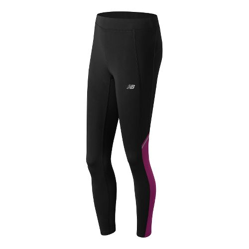 Womens New Balance Accelerate Tights & Leggings Pants - Jewel L