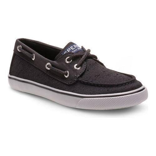 Kids Sperry Boys Bahama Casual Shoe - Black 4Y